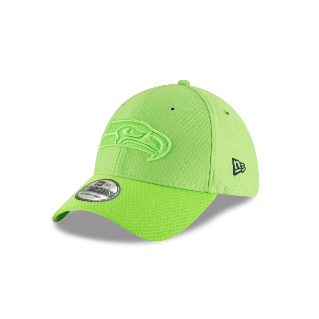 Seattle Seahawks Nfl Color Rush 2018 39thirty Elástica | New Era Cap