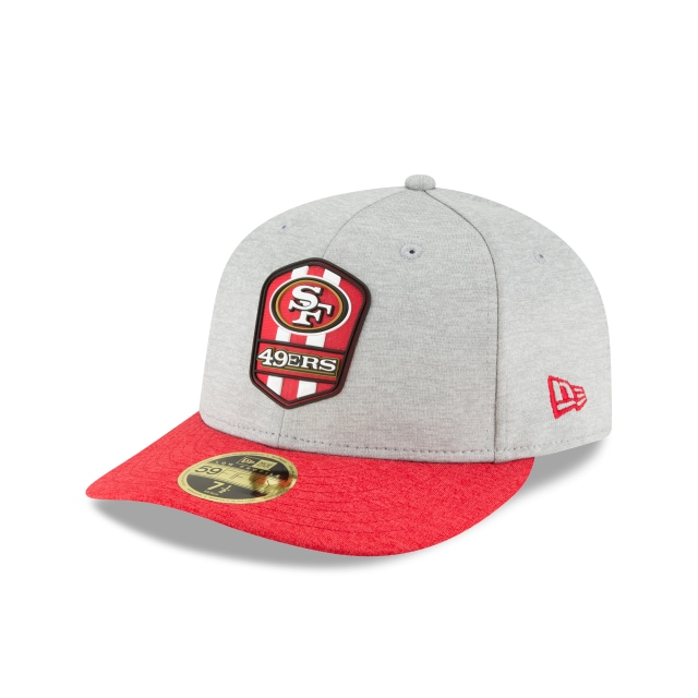 San Francisco 49ers NFL Sideline Attack 59FIFTY LP Cerrada | Gorras de San Francisco 49ers | New Era México
