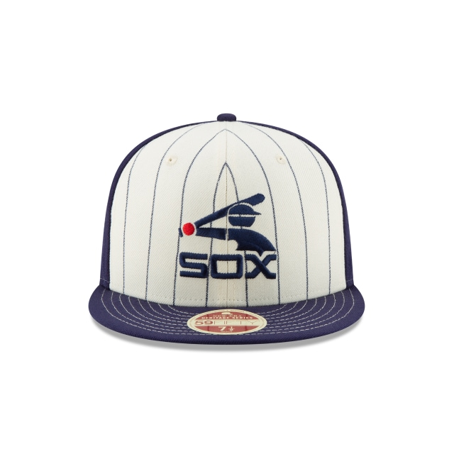 Chicago White Sox Injection Pack Vintage Stripe  59fifty Cerrada | Chicago White Sox Caps | New Era Cap