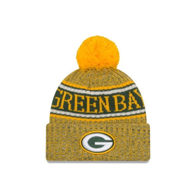 Green Bay Packers Nfl Cold Weather 2018  Knit | New Era Cap