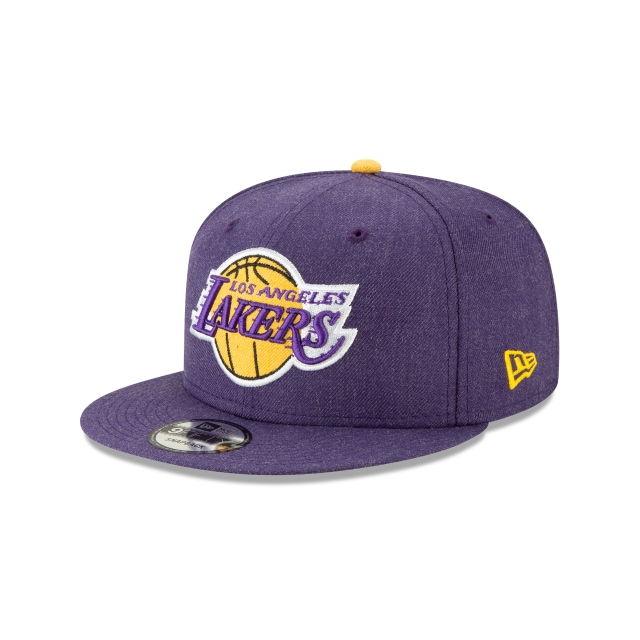 Los Angeles Lakers Heather Hype  9fifty Snapback | New Era Cap