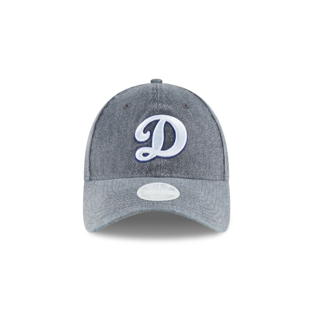 Los Angeles Dodgers Faded Denim Pick Mujer 9TWENTY Strapback | Gorras de Los Angeles Dodgers | New Era México