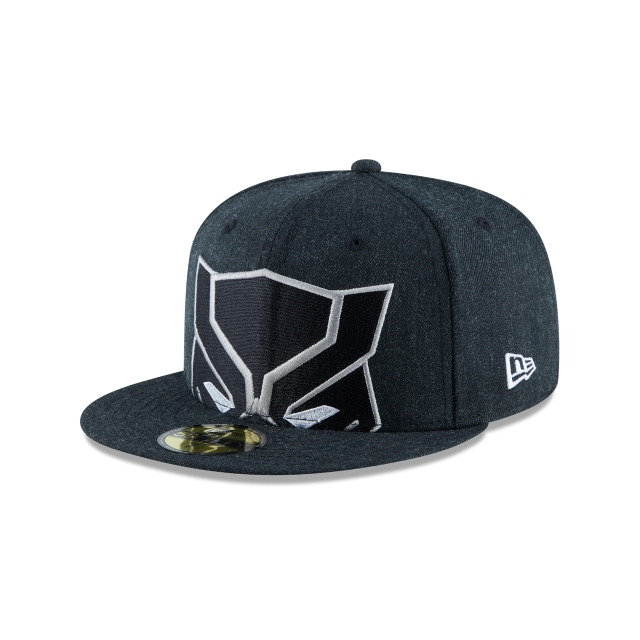 Gorra De Black Panther Logo Flipped  59fifty Cerrada | New Era Cap
