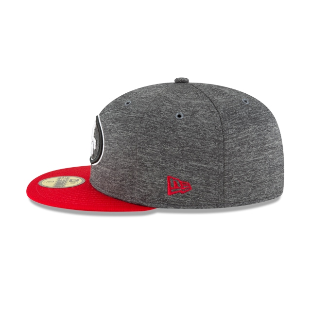 San Francisco 49ers Nfl Sideline Defend 2018  59fifty Cerrada | San Francisco 49ers Caps | New Era Cap
