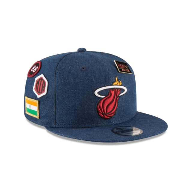 Miami Heat NBA Draft 2018 9FIFTY Snapback | Gorras de Miami Heat | New Era México