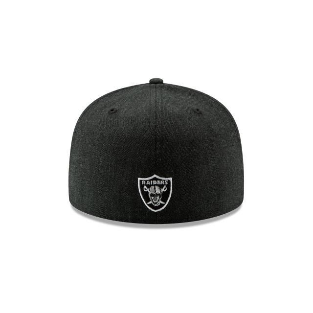 Gorra De Oakland Raiders Logo Flipped  59fifty Cerrada | Oakland Raiders Caps | New Era Cap