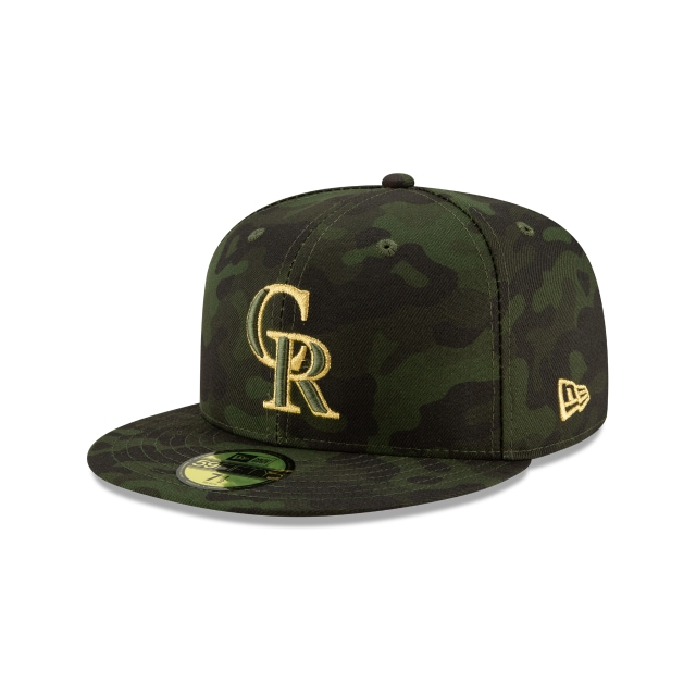 Colorado Rockies Mlb Armed Forces Day 2019  59fifty Cerrada | New Era Cap