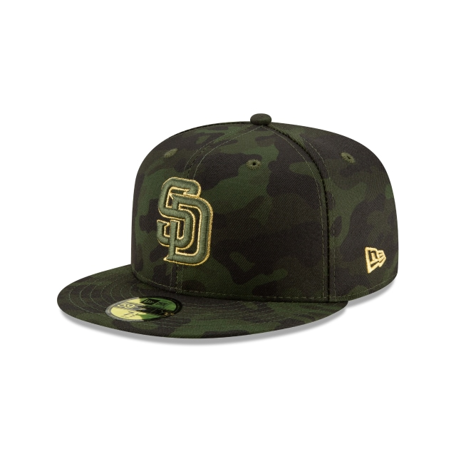 San Diego Padres Mlb Armed Forces Day 2019  59fifty Cerrada | New Era Cap