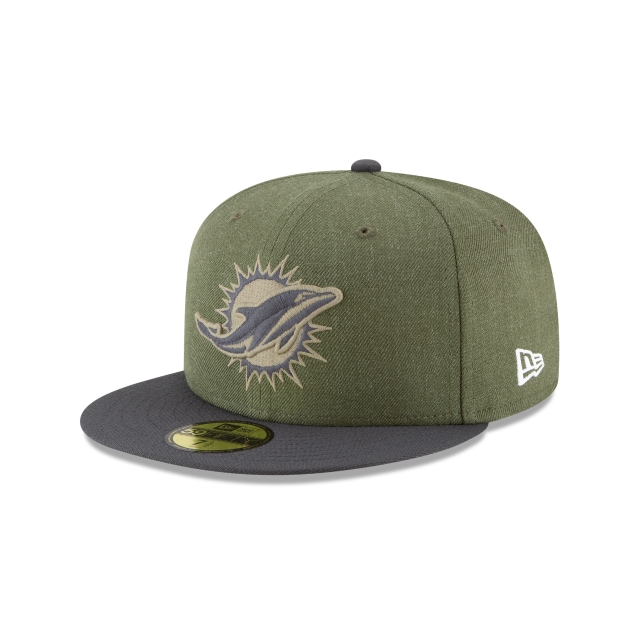 Miami Dolphins Nfl Salute To Service 2018  59fifty Cerrada | New Era Cap
