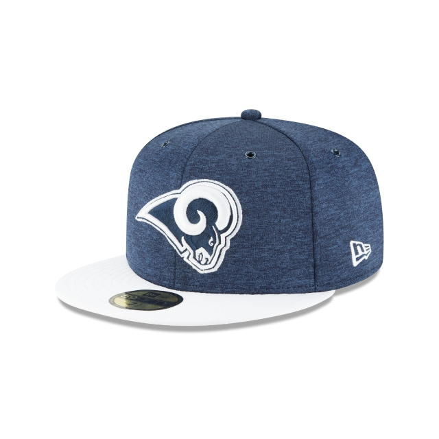 Los Angeles Rams Nfl Sideline Defend 2018  59fifty Cerrada | New Era Cap