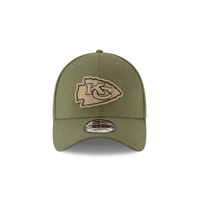 Kansas City Chiefs Nfl Salute To Service 2018  39thirty Elástica | Kansas City Chiefs Caps | New Era Cap