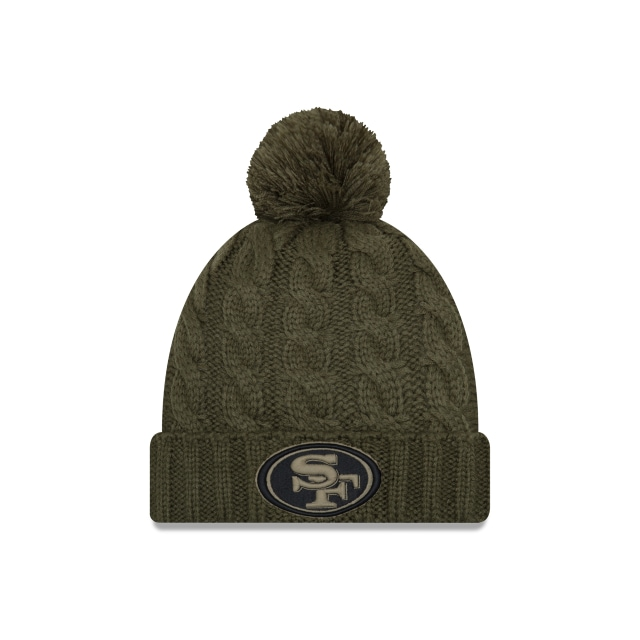 San Francisco 49ers Nfl Salute To Service 2018 Mujer Knit | New Era Cap