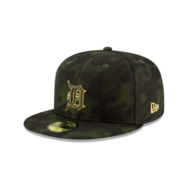 Detroit Tigers Mlb Armed Forces Day 2019  59fifty Cerrada | New Era Cap