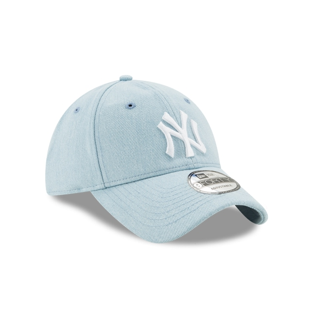 New York Yankees Denim Light  9FORTY Strapback | Gorras de Ny Yankees | New Era México