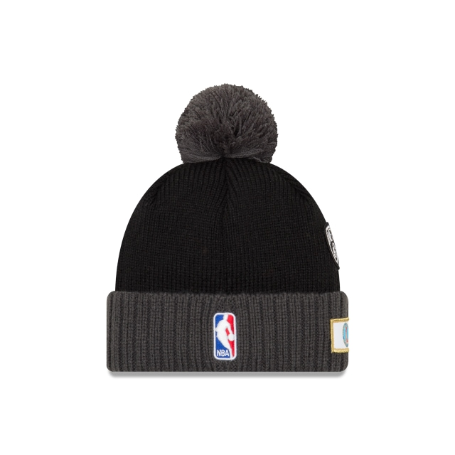 Brooklyn Nets Nba Draft 2018 Knit | Brooklyn Nets Caps | New Era Cap