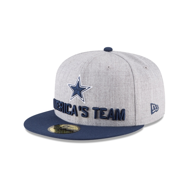 Dallas Cowboys Draft NFL 2018 59FIFTY Cerrada | Gorras de Dallas Cowboys | New Era México