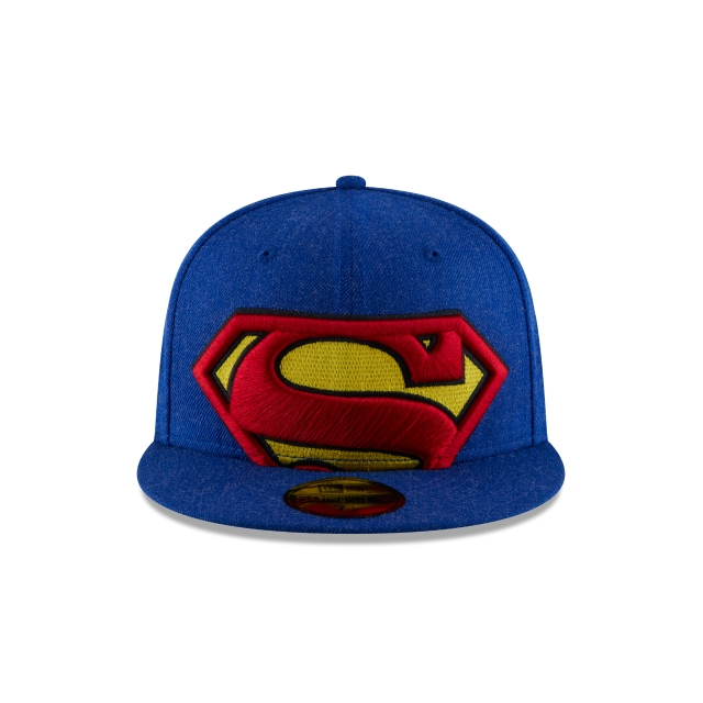 Gorra De Superman Logo Flipped  59fifty Cerrada | Logo Flipped Caps | New Era Cap