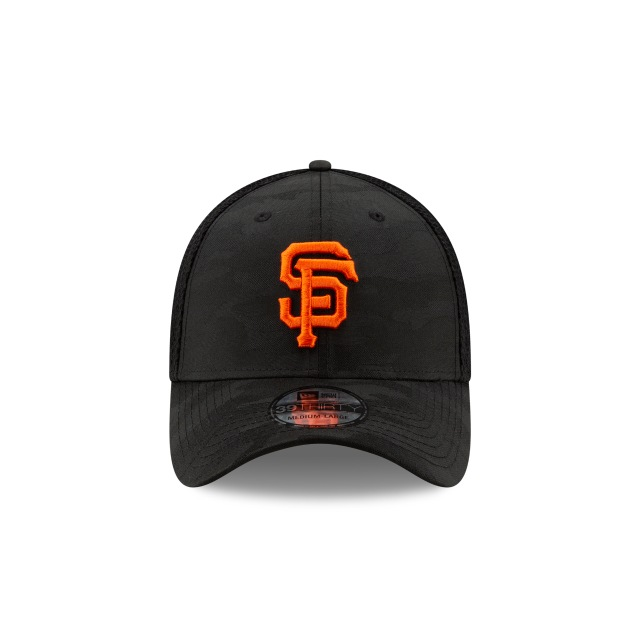 San Francisco Giants Camo Front 39thirty Elástica | San Francisco Giants Caps | New Era Cap