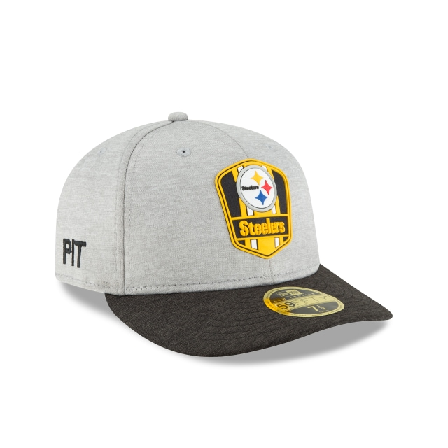 Pittsburgh Steelers Nfl Sideline Attack 59fifty Lp Cerrada | Pittsburgh Steelers Caps | New Era Cap