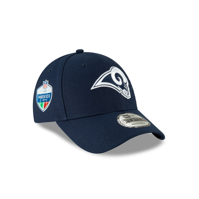 Los Angeles Rams Nfl México Game 2018  9forty Strapback | Los Angeles Rams Caps | New Era Cap