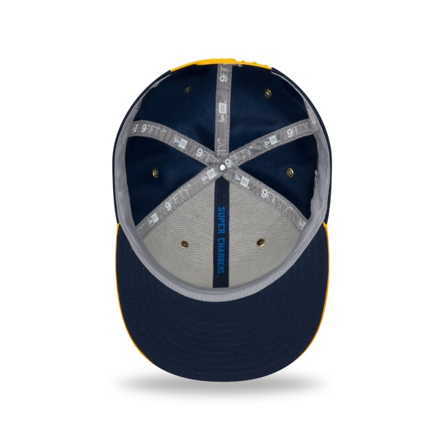 Los Angeles Chargers Nfl Sideline Defend 2018 9fifty Snapback | Los Angeles Chargers Caps | New Era Cap