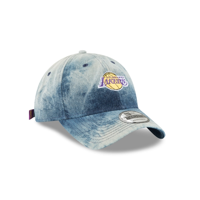 Los Angeles Lakers Denim Wash Out  9twenty Strapback | La Lakers Caps | New Era Cap