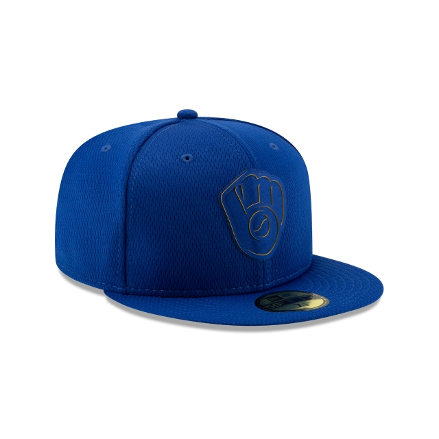 Milwaukee Brewers Clubhouse 2019  59fifty Cerrada | Milwaukee Brewers Caps | New Era Cap