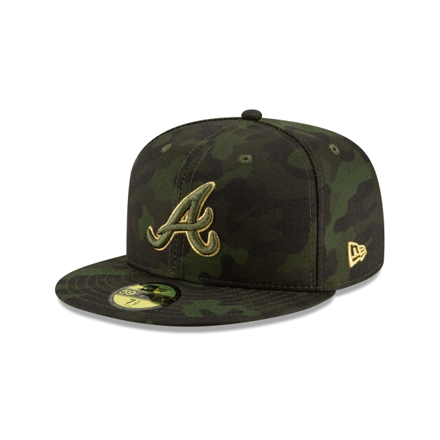 Atlanta Braves Mlb Armed Forces Day 2019  59fifty Cerrada | New Era Cap