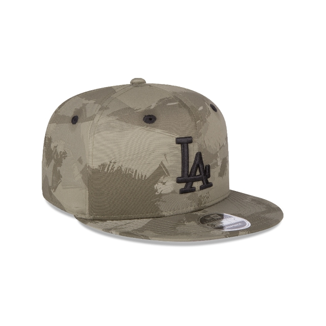 Los Angeles Dodgers Camo Basics  9fifty Of Snapback | Los Angeles Dodgers Caps | New Era Cap