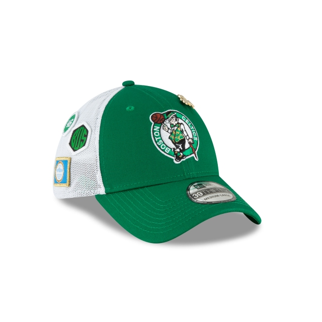 Boston Celtics Nba Draft 2018 39thirty Elástica | Boston Celtics Caps | New Era Cap