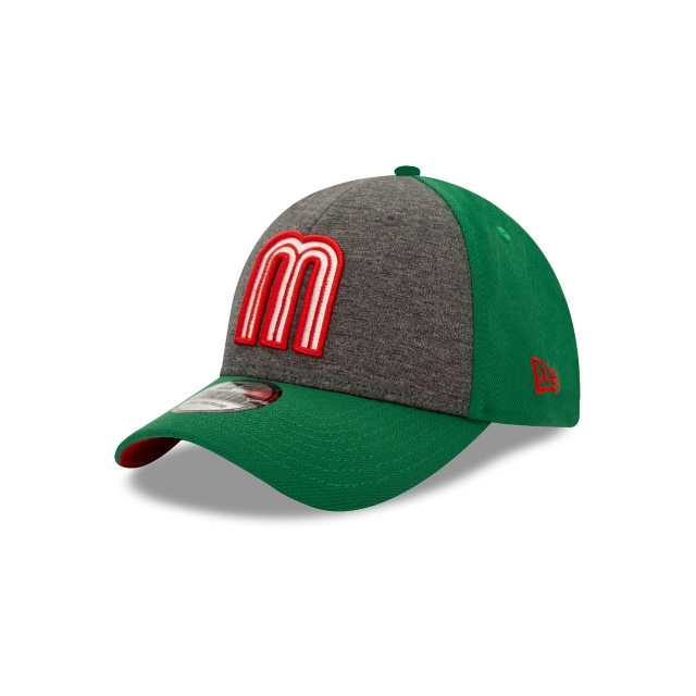 México La M Grafito Y Verde 39thirty Elástica | New Era Cap