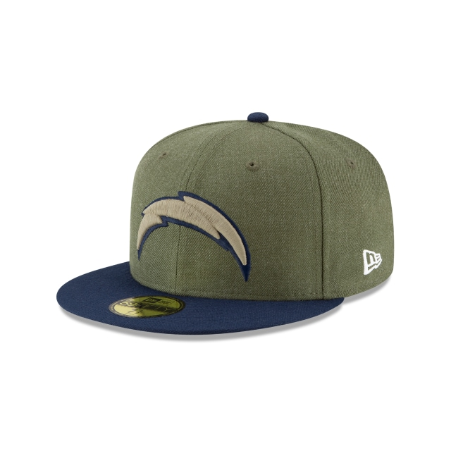 Los Angeles Chargers Nfl Salute To Service 2018  59fifty Cerrada | New Era Cap