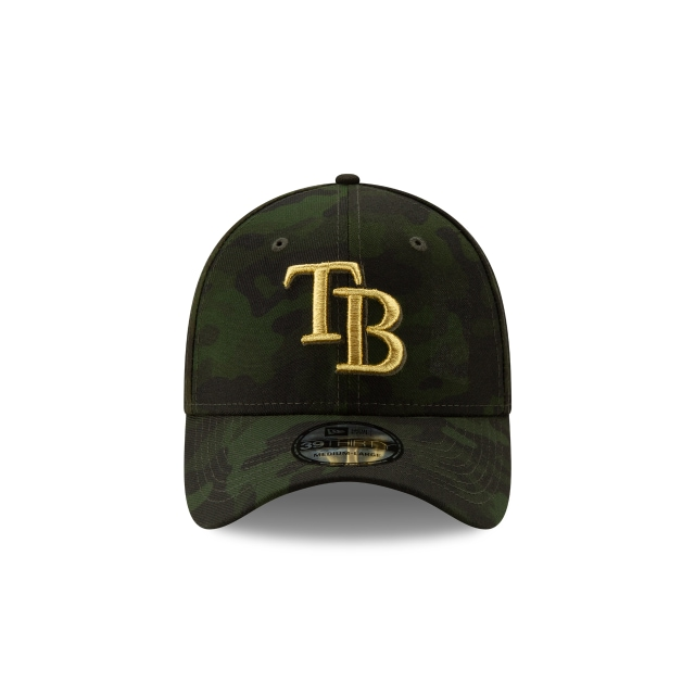 Tampa Bay Rays Mlb Armed Forces Day 2019  39thirty Elástica | Tampa Bay Rays Caps | New Era Cap