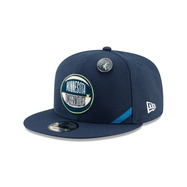 Minnesota Timberwolves Nba Draft 2019  9fifty Snapback | New Era Cap
