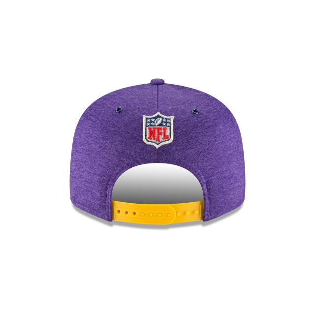 Minnesota Vikings Nfl Sideline Defend 2018 9fifty Snapback | Minnesota Vikings Caps | New Era Cap