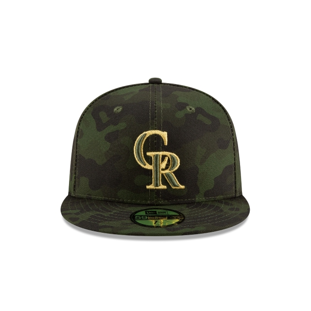 Colorado Rockies MLB Armed Forces Day 2019  59FIFTY Cerrada | Gorras de Colorado Rockies | New Era México