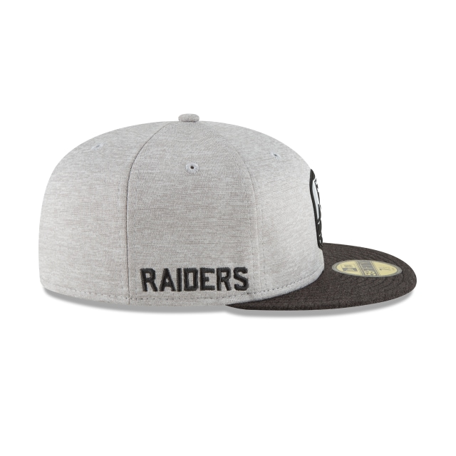 Las Vegas Raiders NFL Sideline Attack 59FIFTY Cerrada | Gorras de Las Vegas Raiders | New Era México