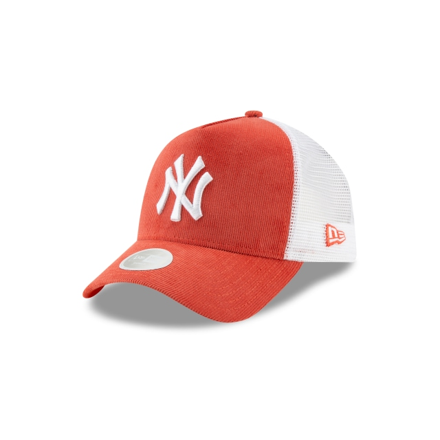 Gorra De New York Yankees Micro Cord De Mujer 9forty Af Strapback | New Era Cap