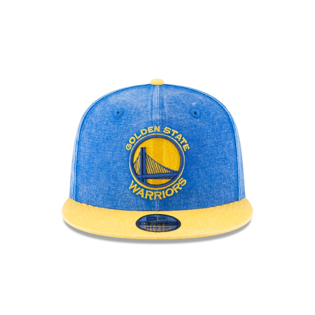 Golden State Warriors Rugged Canvas  9fifty Snapback | Golden State Warriors Caps | New Era Cap