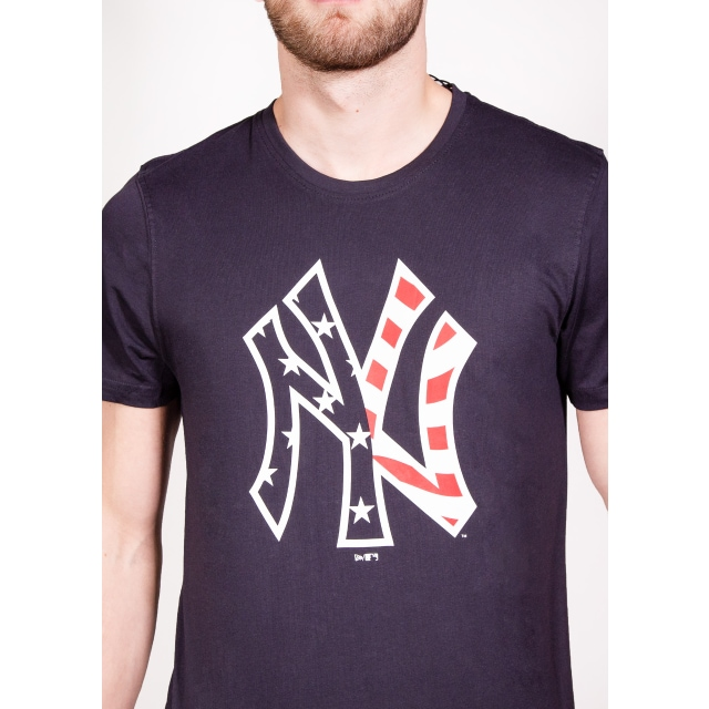 New York Yankees Infill Logo Playera Manga Corta | Ny Yankees Infill Logo | New Era México