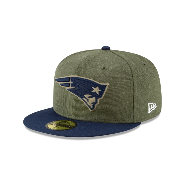 New England Patriots Nfl Salute To Service 2018  59fifty Cerrada | New Era Cap