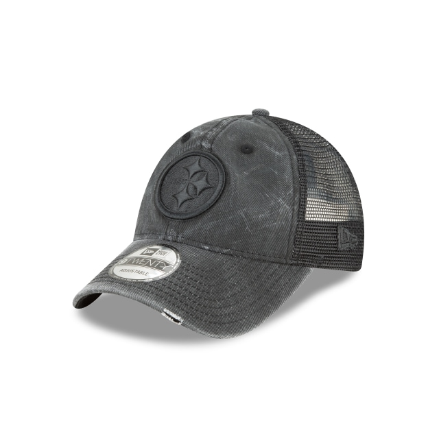 Pittsburgh Steelers Toned Trucker Mujer 9forty Trucker Strapback | New Era Cap