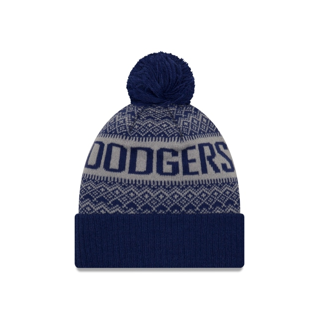 Los Angeles Dodgers Wintry Pom  Knit | Gorras de Los Angeles Dodgers | New Era México