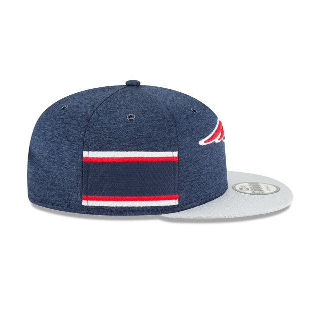New England Patriots Nfl Sideline Defend 2018 9fifty Snapback | New England Patriots Caps | New Era Cap