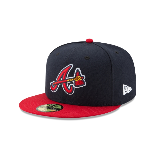 Atlanta Braves Authentic Collection  59fifty Cerrada | New Era Cap