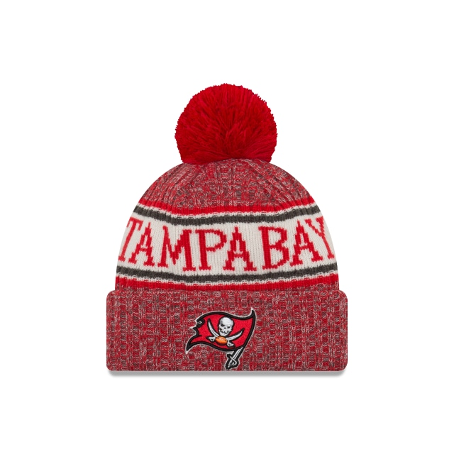 Tampa Bay Buccaneers Nfl Cold Weather 2018  Knit | New Era Cap