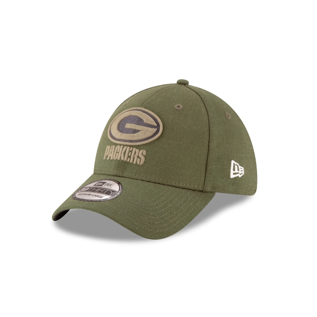 Green Bay Packers Nfl Salute To Service 2018  39thirty Elástica | New Era Cap