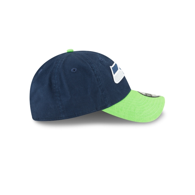 Seattle Seahawks Mark Mixer Adjust  9TWENTY Strapback | Gorras de Seattle Seahawks | New Era México
