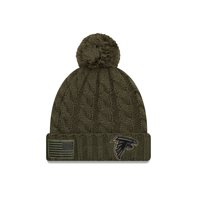 Atlanta Falcons Nfl Salute To Service 2018 Mujer Knit | Atlanta Falcons Caps | New Era Cap