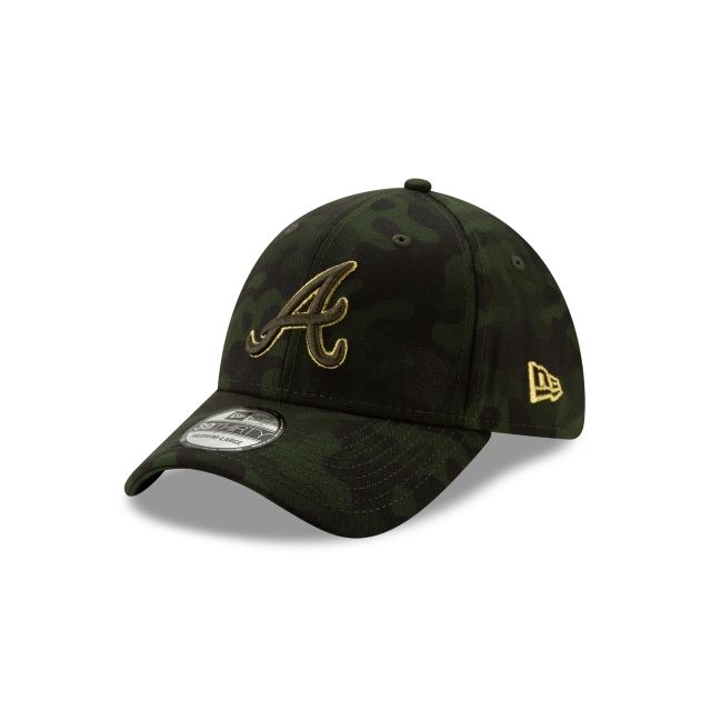 Atlanta Braves Mlb Armed Forces Day 2019  39thirty Elástica | Atlanta Braves Caps | New Era Cap